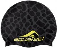 Aquafeel Black Reflection Silicone Cap
