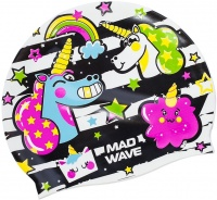 Mad Wave Unicorn Swim Cap Junior