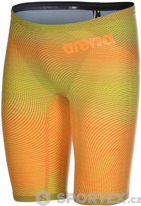 Arena Powerskin Carbon Air2 Jammer Psyco Lime/Orange