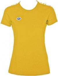 Arena W T-Shirt Team Lily Yellow/White