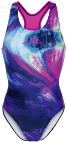 Aquafeel Water Waves Aquafeelback Blue/Pink