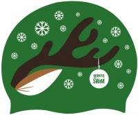 BornToSwim Christmas Reindeer Cap
