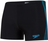 Speedo Tech Panel Aquashort Black/Nordic Teal/Pool