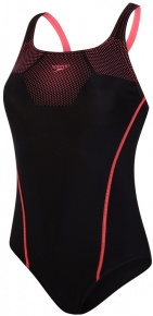 Speedo Tech Placement Medalist Black/Phoenix Red