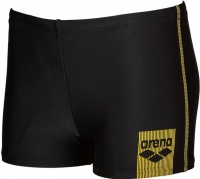 Arena Basics Short Junior Black/Yellow Star