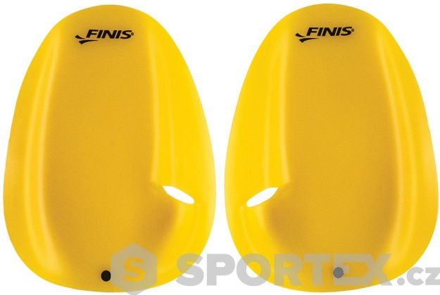 Finis Agility Paddle Floating Yellow