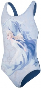 Speedo Disney Frozen 2 Elsa Digital Placement Splashback Girl Powder Blue/Sky Blue/Navy