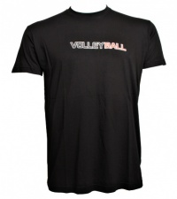 Tričko Volleyball black