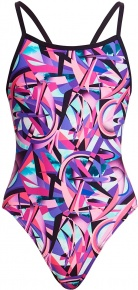 Funkita Limitless Single Strap One Piece Girls