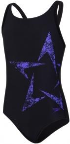Speedo Boomstar Placement Flyback Girl Black/Ultraviolet