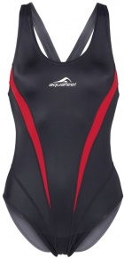 Aquafeel Competitionback Aqualine Girls Black/Red