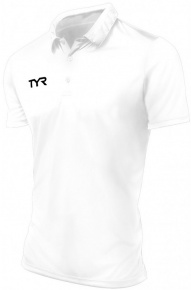 Tyr Alliance Coaches Polo Male White
