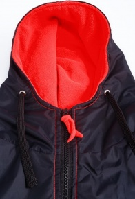BornToSwim Parka Black/Red
