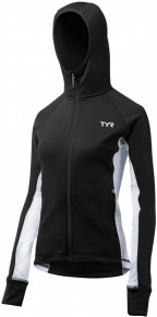 Tyr Female Victory Warm-Up Jacket Black/White