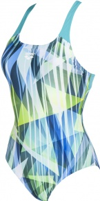 Arena Shading Prism Swim Pro Back One Piece Mint/Multi