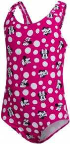 Speedo Minnie Mouse Digital Allover Swimsuit Infant Girl Electric Pink/Black