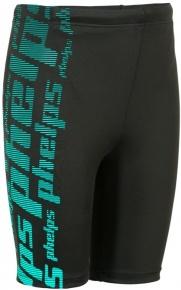 Michael Phelps Jack Jammer Boys Black/Turquoise