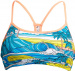Funkita Summer Bay Eco Swim Crop Top