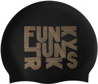 Funky Trunks Gold Lines Swimming Cap