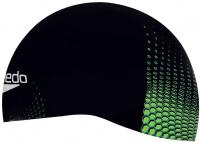 Speedo Fastskin Cap Black/Jade/Fluo Yellow
