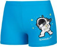 Speedo Placement Aquashort Infant Boy Pool/White
