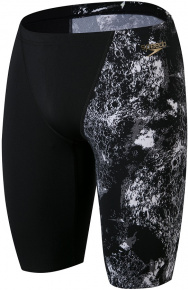 Speedo Allover V-Cut Jammer Black/USA Charcoal/White