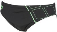 Arena Essentials Brief Black/Golf Green