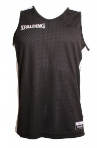Dres na basketbal Spalding Essential Shirt white/black