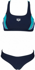 Arena Threefold Two Pieces Navy/Royal/Martinica