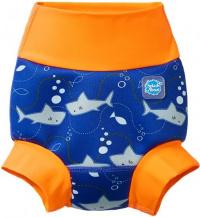 Splash About New Happy Nappy Shark Orange