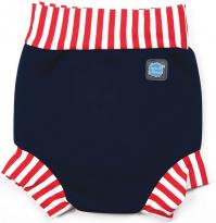Splash About Happy Nappy Navy/Red Stripe