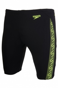 Speedo Monogram jammer black yellow