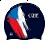 Plavecké čepice vlajky