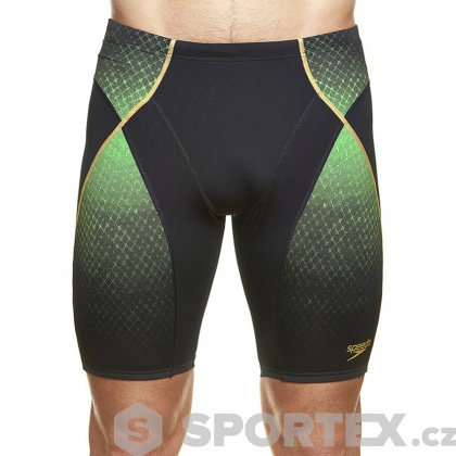 Speedo Fit Pinnacle Jammer green 38