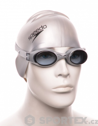 Plavecké brýle Speedo Rapide Stříbrná