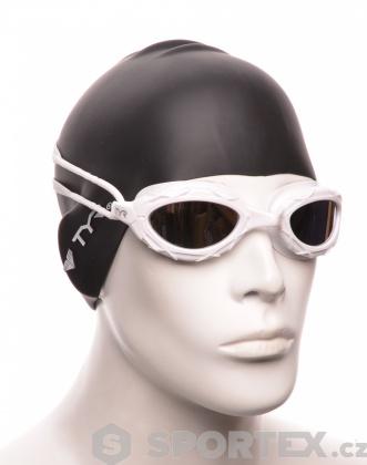 Plavecké brýle TYR Nest Pro Mirror Bílá