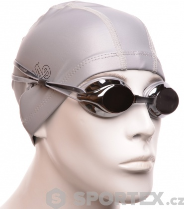 Plavecké brýle Emme Sydney mirror Mirror Silver
