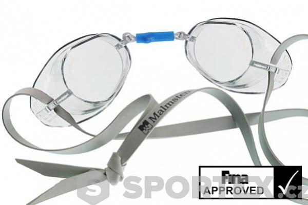 Plavecké brýle skořápky Malmsten Swedish Čirá