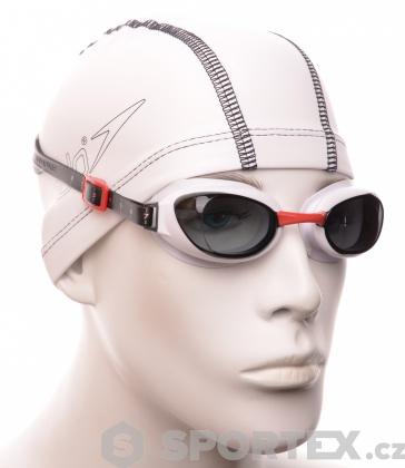 Brýle na plavání Speedo Aquapure Bílo/kouřová