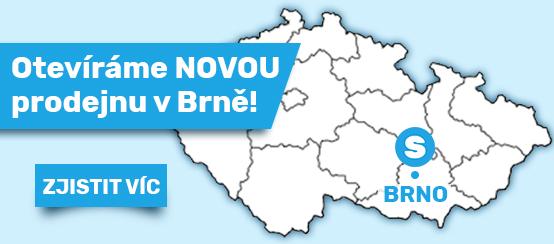 Nová prodejna v Brně