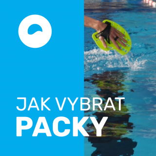 Jak vybrat plavecké packy?